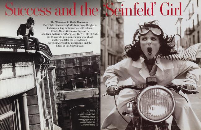 Article Preview: Success and the 'Seinfeld' Girl, March 1997 1997 | Vanity Fair