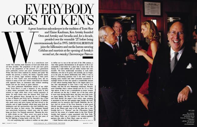 Article Preview: EVERYBODY GOES TO KEN'S, March 1997 1997 | Vanity Fair