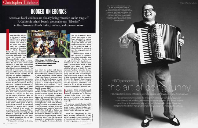Article Preview: HOOKED ON EBONICS, March 1997 1997 | Vanity Fair