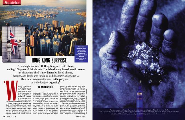 Article Preview: HONG KONG SURPRISE, March 1997 | Vanity Fair