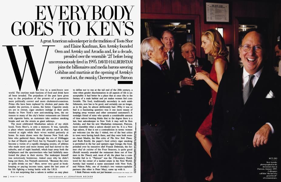 EVERYBODY GOES TO KEN'S