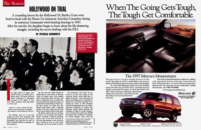 Article Preview: HOLLYWOOD ON TRIAL, April 1997 1997 | Vanity Fair