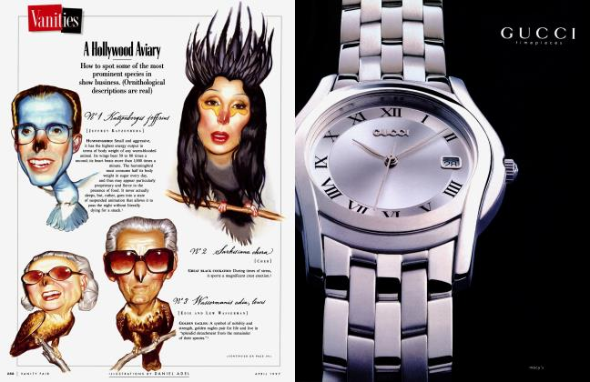 Article Preview: A Hollywood Aviary, April 1997 1997 | Vanity Fair