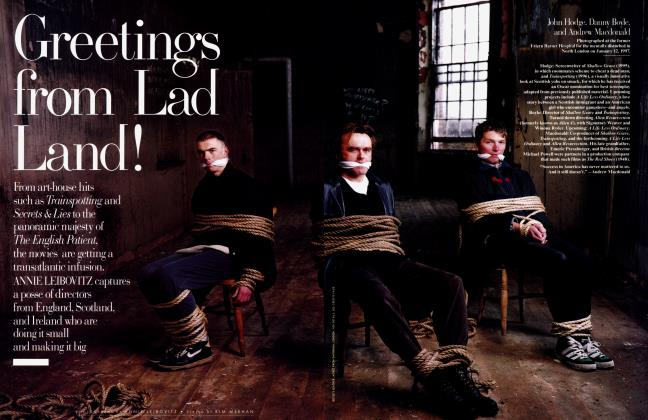 Article Preview: Greetings from Lad Land!, April 1997 1997 | Vanity Fair