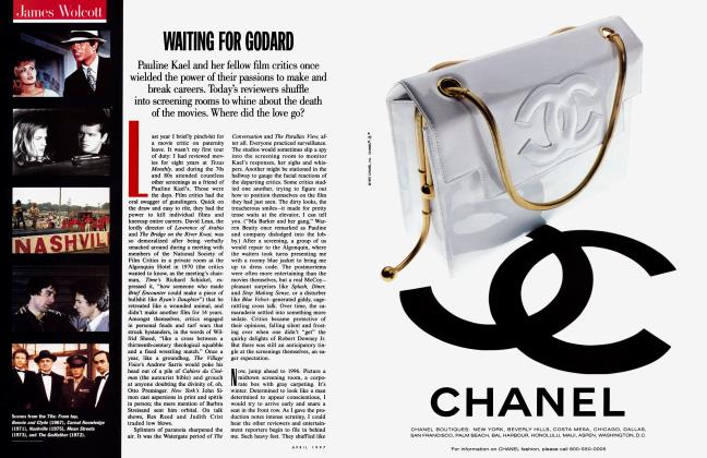 Article Preview: WAITING FOR GODARD, April 1997 1997 | Vanity Fair
