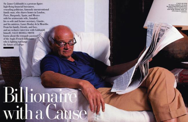 Article Preview: Billionaire with a Cause, May 1997 1997 | Vanity Fair