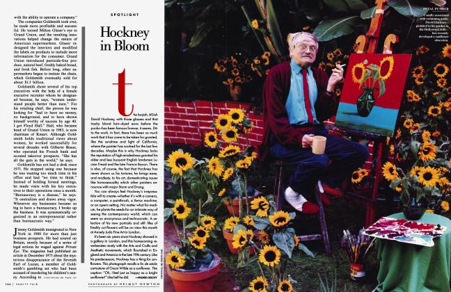 Article Preview: Hockney in Bloom, May 1997 1997 | Vanity Fair