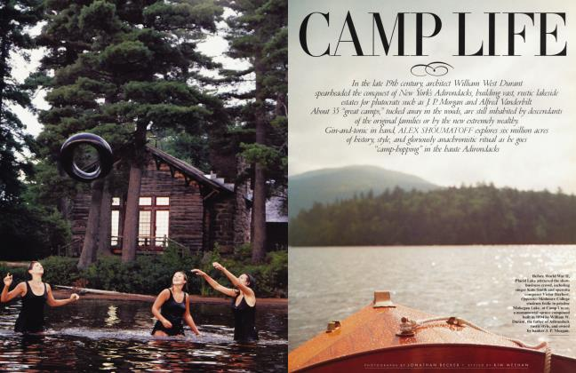 Article Preview: CAMP LIFE, May 1997 1997 | Vanity Fair