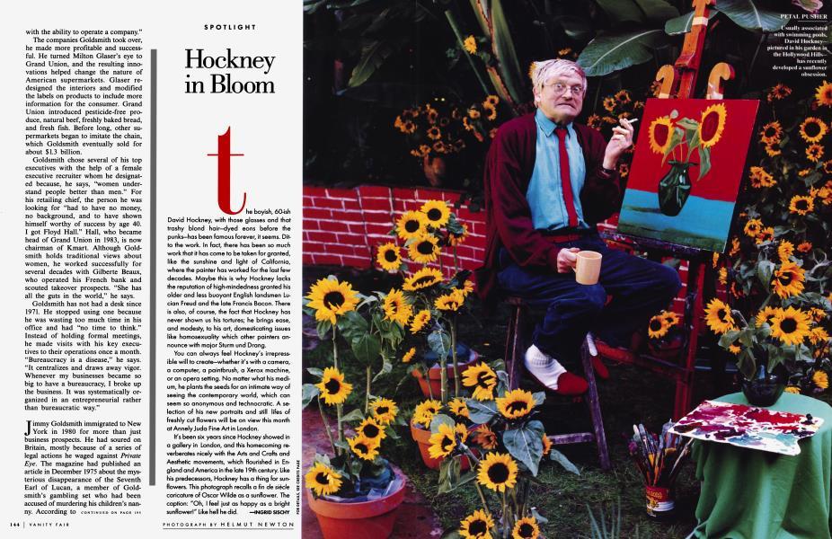 Hockney in Bloom