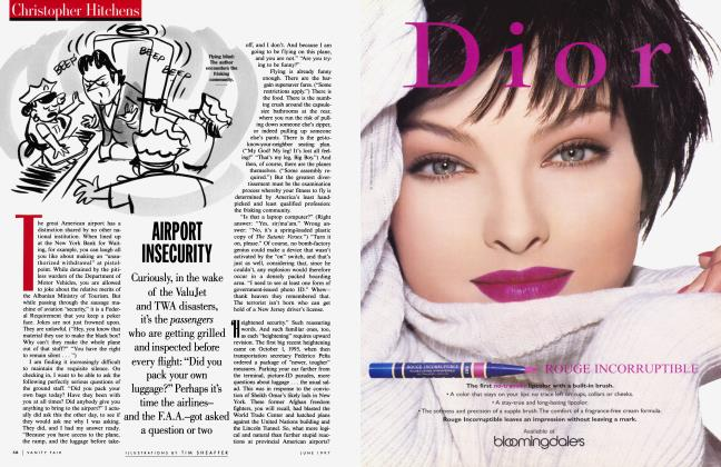 Article Preview: AIRPORT INSECURITY, June 1997 | Vanity Fair