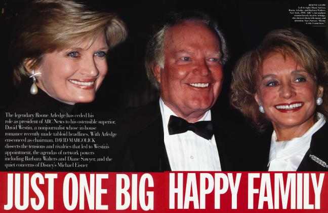 Article Preview: JUST ONE BIG HAPPY FAMILY, June 1997 | Vanity Fair