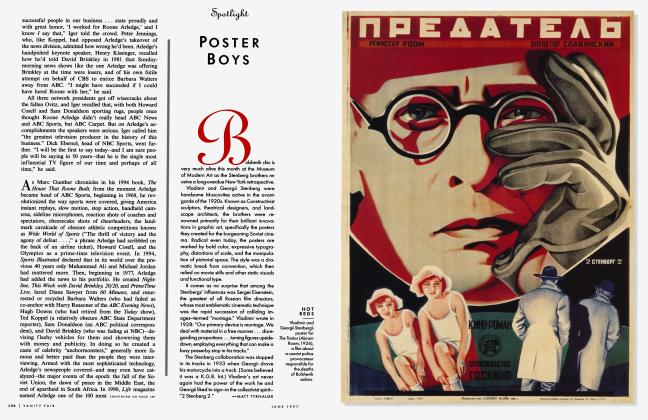 Article Preview: POSTER BOYS, June 1997 1997 | Vanity Fair