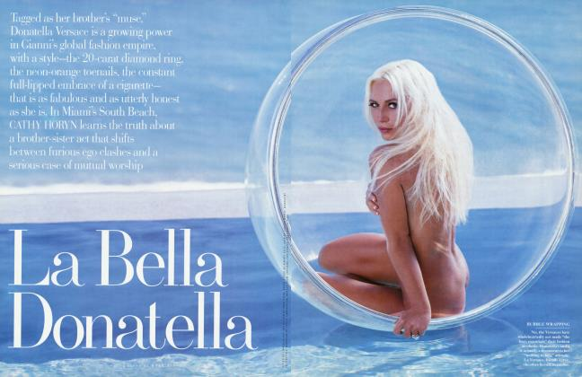 Article Preview: La Bella Donatella, June 1997 | Vanity Fair