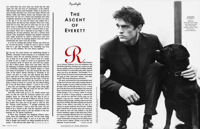 Article Preview: THE ASCENT OF EVERETT, June 1997 1997 | Vanity Fair