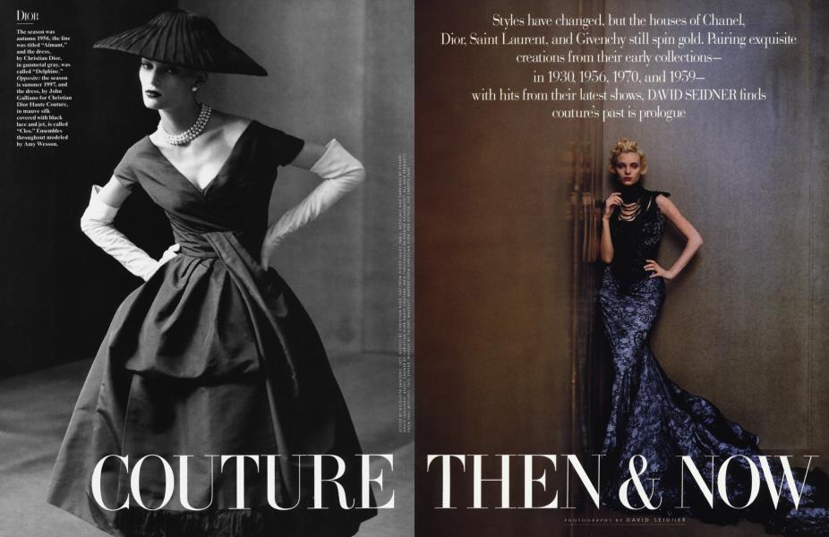 COUTURE THEN & NOW