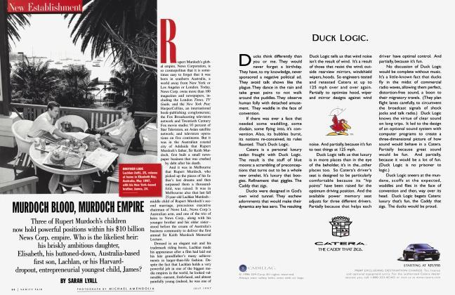 Article Preview: MURDOCH BLOOD, MURDOCH EMPIRE, July 1997 | Vanity Fair