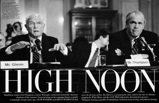Article Preview: HIGH NOON, July 1997 1997 | Vanity Fair