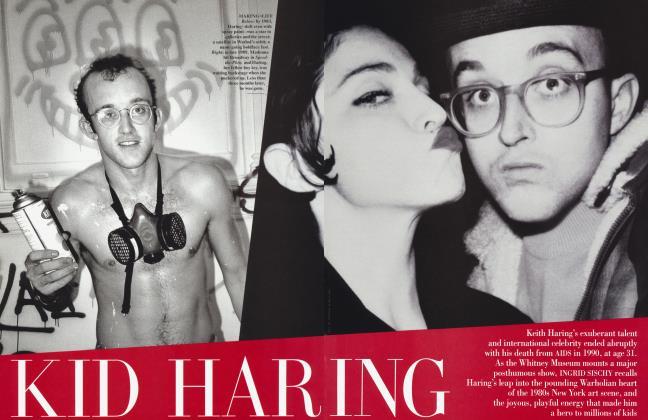 Article Preview: KID HARING, July 1997 | Vanity Fair