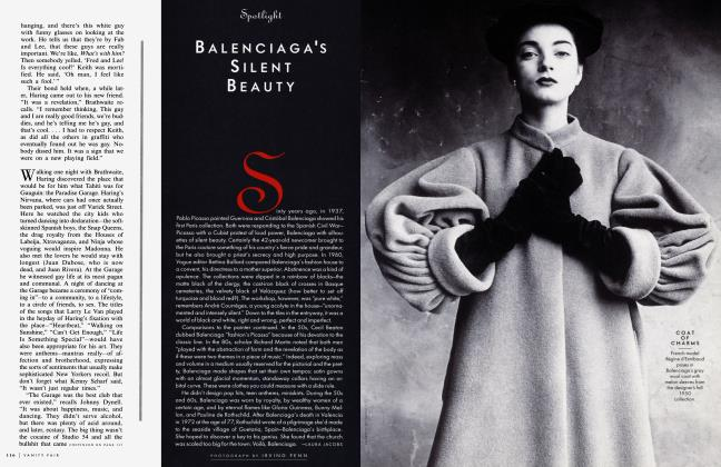 Article Preview: BALENCIAGAS SILENT BEAUTY, July 1997 1997 | Vanity Fair