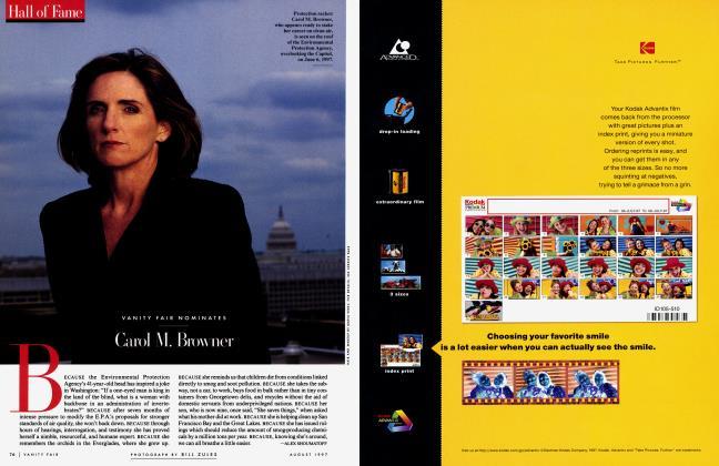 Article Preview: VANITY FAIR NOMINATES Carol M. Browner, August 1997 1997 | Vanity Fair
