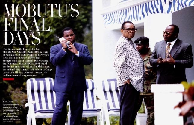 Article Preview: MOBUTU'S FINAL DAYS, August 1997 | Vanity Fair