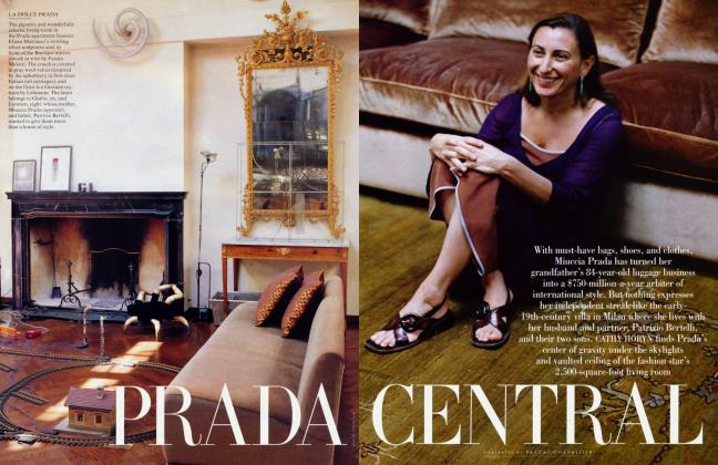 Article Preview: PRADA CENTRAL, August 1997 1997 | Vanity Fair
