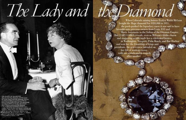 Article Preview: The Lady and the Diamond, August 1997 | Vanity Fair