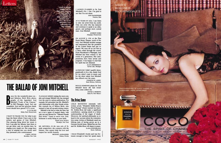 THE BALLAD OF JONI MITCHELL