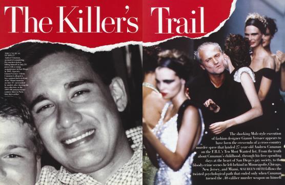 The Killer's Trail - September | Vanity Fair