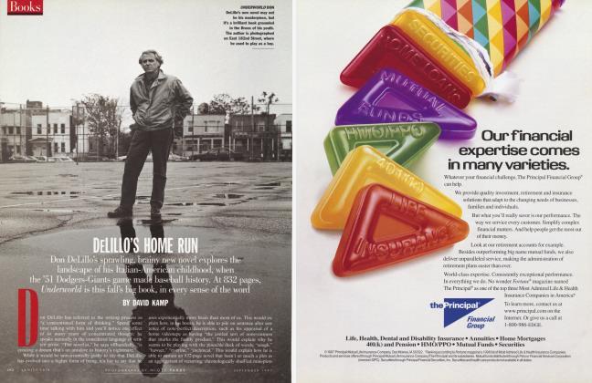 Article Preview: DELILLO'S HOME RUN, September 1997 1997 | Vanity Fair