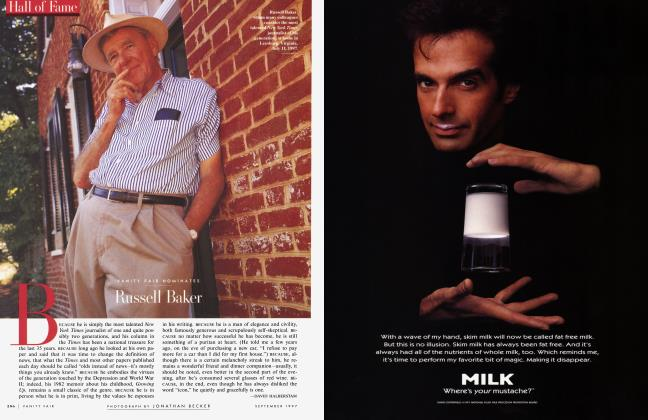 Article Preview: VANITY FAIR NOMINATE Russell Baker, September 1997 1997 | Vanity Fair