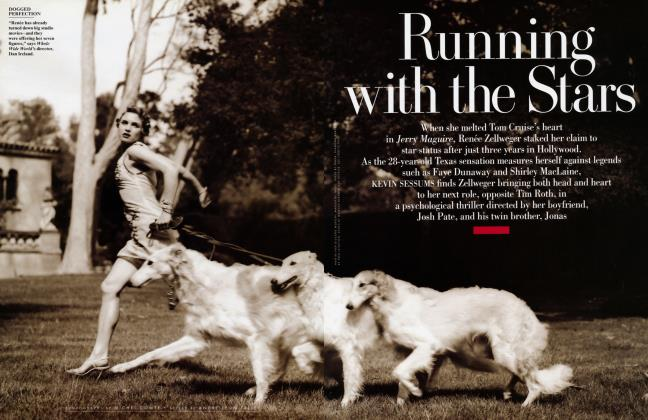 Article Preview: Running with the Stars, September 1997 1997 | Vanity Fair