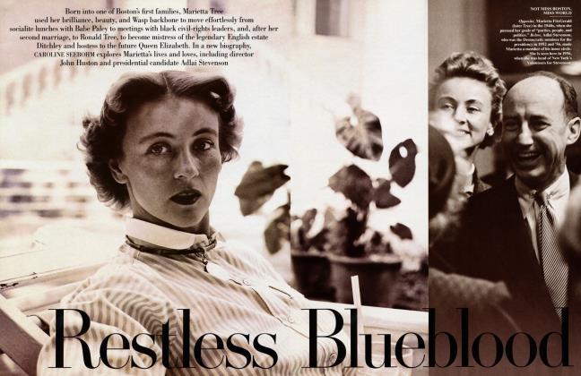 Article Preview: Restless Blueblood, September 1997 1997 | Vanity Fair