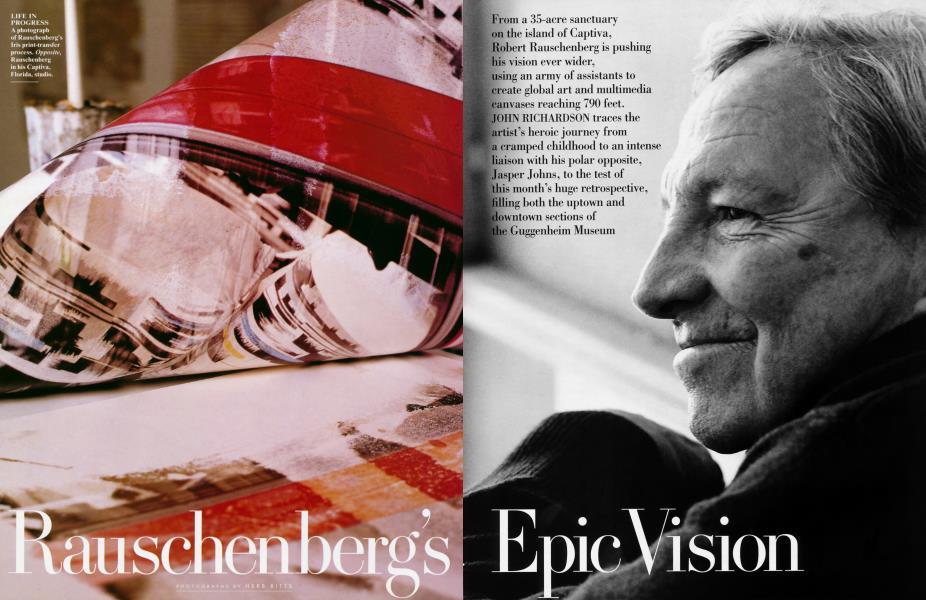 Rauschenberg's Epic Vision
