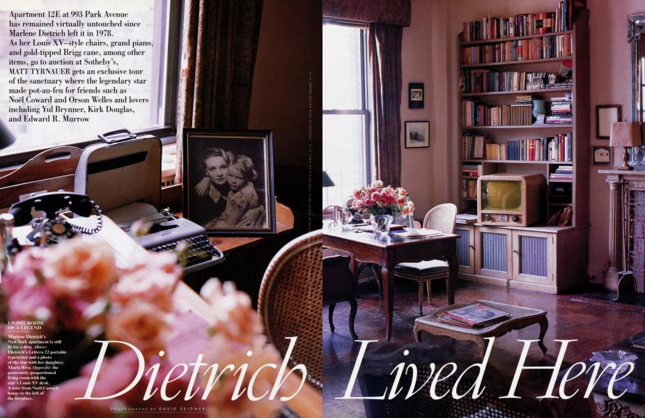 Dietrich Lived Here