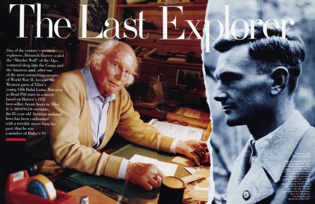 Article Preview: The Last Explorer, October 1997 1997 | Vanity Fair