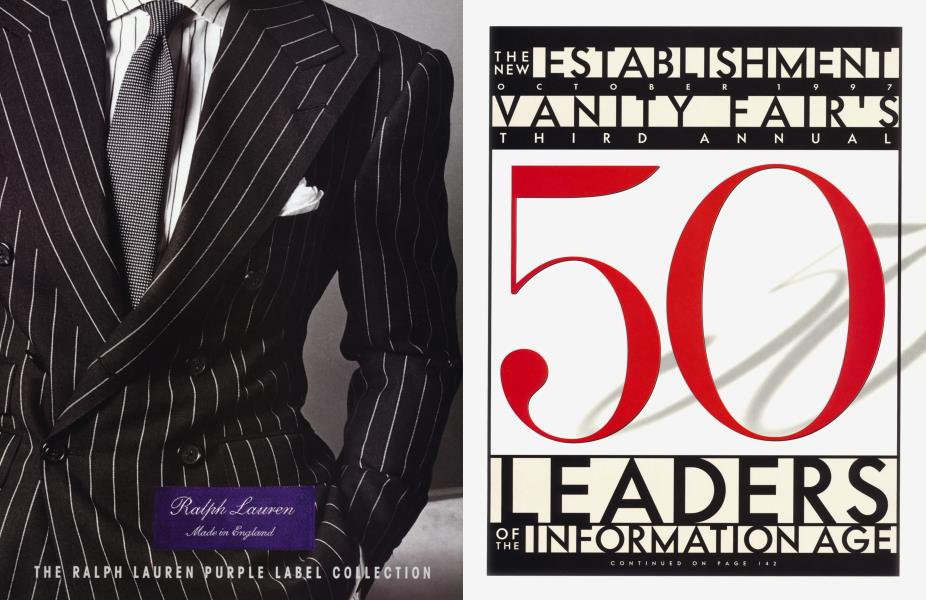 THE NEW ESTABLISHMENT VANITY FAIR'S 50 LEADERS OF THE INFORMATION AGE