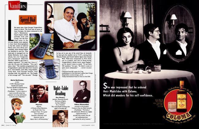 Article Preview: Speed Dial, November 1997 1997   Vanity Fair