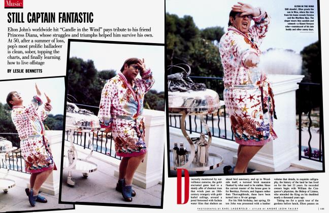 Article Preview: STILL CAPTAIN FANTASTIC, November 1997 1997   Vanity Fair