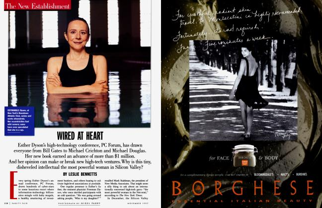 Article Preview: WIRED AT HEART, November 1997 1997 | Vanity Fair