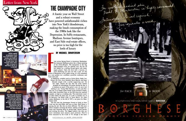 Article Preview: THE CHAMPAGNE CITY, December 1997 1997 | Vanity Fair