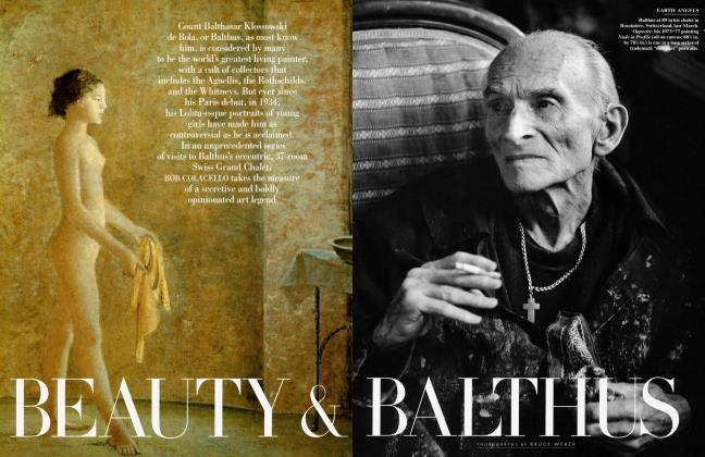 Article Preview: BEAUTY & BALTHUS, December 1997 | Vanity Fair