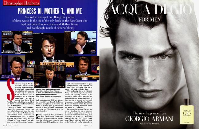 Article Preview: PRINCESS DI, MOTHER T., AND ME, December 1997 1997 | Vanity Fair