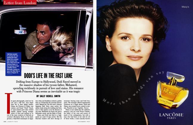 Article Preview: DODI'S LIFE IN THE FAST LANE, December 1997 | Vanity Fair