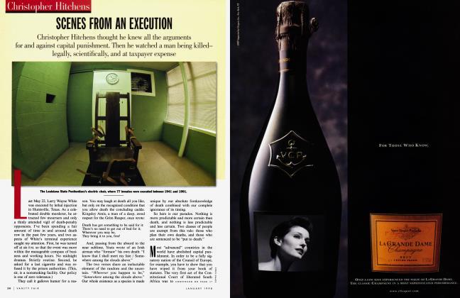 Article Preview: SCENES FROM AN EXECUTION, January 1998 | Vanity Fair