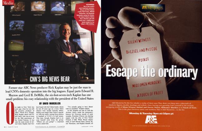 Article Preview: CNN'S BIG NEWS BEAR, January 1998 | Vanity Fair