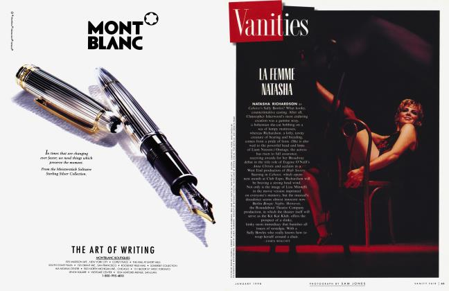 Article Preview: LA FEMME NATASHA, January 1998 1998 | Vanity Fair