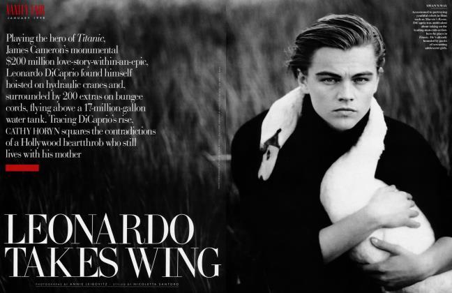 Article Preview: LEONARDO TAKES WING, January 1998 | Vanity Fair