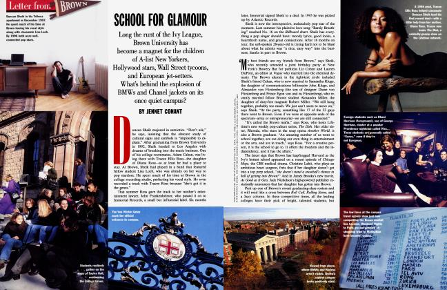 Article Preview: SCHOOL FOR GLAMOUR, February 1998 | Vanity Fair