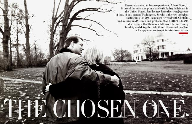 Article Preview: THE CHOSEN ONE, February 1998 | Vanity Fair
